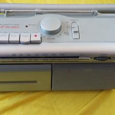 RADIO CASETOFON SONY CFM-20 .FUNCTIONEAZA SI ESTE O BIJUTERIE DE APARAT !