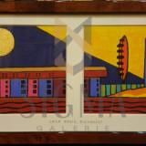 TABLOU, RONALD BOONACKER, CASA RADIO BUCHAREST, EX. 11/500 - Pictor roman