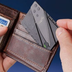 Cutit Card Briceag - Practic - Briceag/Cutit vanatoare