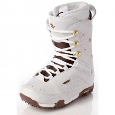 Snowboard boots, booti Raven White Jewel Noi 39 - 25cm - Boots snowboard