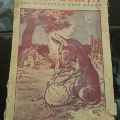 Jupan Gulita sau Aventurile unui magar - Vasile Enescu - Carte veche