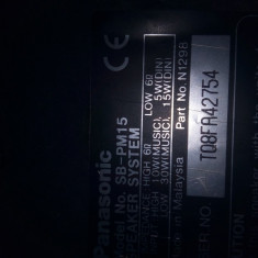 Boxe Panasonic SB-PM15