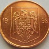 Moneda 1 Leu - ROMANIA, anul 1993 *cod 3641 - Moneda Romania