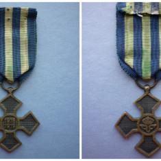 Decoratie/ Medalie - Crucea Comemorativa a Primului Razboi Mondial 1916 1919