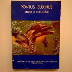 Pontus Euxinus - Studii si cercetari I
