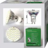 BEC SPOT LED GU10 60 leduri 220 V, Spoturi