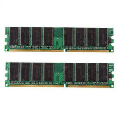 Memorie RAM 2Gb DDR1 DualChanel 2x1Gb PC3200 FSB 400, 400 mhz, Dual channel