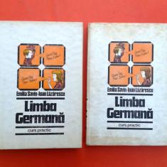 LIMBA GERMANA Curs practic Emilia Savin 2 vol 1985 - Curs Limba Germana