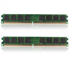 Kit Memorie Ram 2 GB 2x1GB 800 MHz, DDR 2, Dual channel