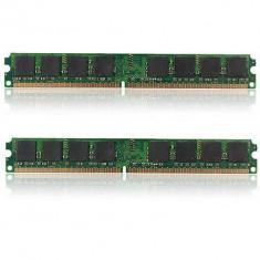 Kit Memorie Ram 2 GB 2x1GB 800 MHz, DDR 2, Dual channel