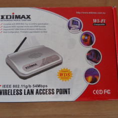 Access Point wireless Edimax EW-7203APg 54Mbps. - Acces point