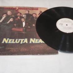 DISC VINIL NELUTA NEAGU MUZICA LAUTAREASCA RARITATE EUROSTAR CS-0229