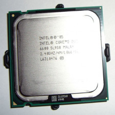 PROCESOR CORE2DUO E6600 4M Cache 2.40 GHz 1066 MHz Garantie 6 Luni - Procesor PC Intel, Intel, Intel Core 2 Duo, Numar nuclee: 2, 2.0GHz - 2.4GHz, LGA775