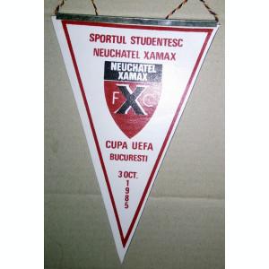 LOT 2 FANIOANE / FANION FOTBAL - SPORTUL NEUCHATEL + FC BAIA MARE