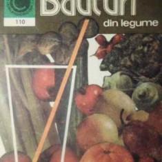 Bauturi Din Legume - G. Septilici, 388956 - Carte Retete culinare internationale