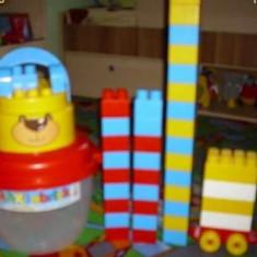 Lego marime mare in cutie ursulet firma ecoiffier
