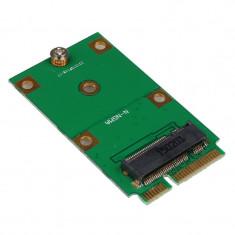 Adaptor M.2 NGFF 30mm 42mm SSD la mSATA 52pin - Adaptor interfata PC