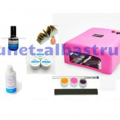 Kit Moon UV Unghii false Coco, gel, accesorii, manichiura