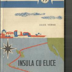 INSULA CU ELICE - JULES VERNE - Carte poezie