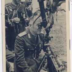 507 - Army, Maresalul ION ANTONESCU - old postcard, real PHOTO - unused - Carte postala tematica, Necirculata, Fotografie