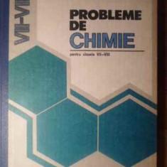 Probleme De Chimie Pentru Clasele Vii-viii - Cornelia Gheorghiu Carolina Parvu, 388982 - Carte Chimie