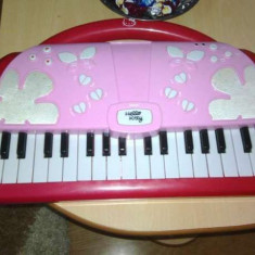 Pianina orga originala hello kitty functii demo functie de inregistrare redare. - Instrumente muzicale copii