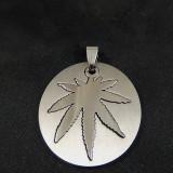 Pandantiv / Medalion/ Colier / Lantisor - Marijuana Jamaica Rasta