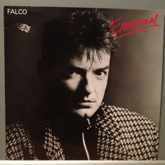 FALCO - EMOTIONAL (1986/TELDEC REC/RFG) - Vinil/Vinyl/Impecabil (NM)