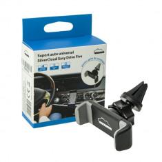 Aproape nou: Suport auto universal SilverCloud Easy Drive Five pentru grila ventila