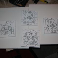 Set 6 panze pentru pictat