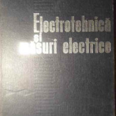 Electrotehnica Si Masuri Electrice - Marius Preda, Viorica Hortopan, 388923 - Carti Electrotehnica
