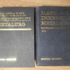 Manualul Inginerului Metalurg Vol.1-2 - Suzana Gadea Si Colab., 388874 - Carti Constructii