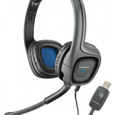 Casti Plantronics 655 DSP USB STEREO - cu super BASS, Casti On Ear, Cu fir