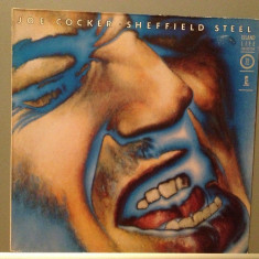 JOE COCKER - SHEFFIELD STEEL (1982/ISLAND REC/RFG) - Vinil/Vinyl/Impecabil (NM) - Muzica Rock rca records