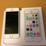 iPhone 5S Apple Argintiu, 16GB, Neblocat