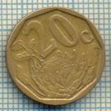8259 MONEDA- AFRICA DE SUD - 20 CENTS -anul 2003 -starea ce se vede