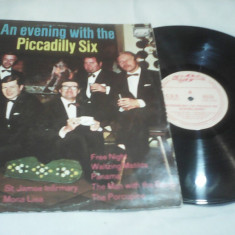 DISC VINIL AN EVENING WITH THE PICCADILLY SIX EUROSTAR CDS-033 STARE EXCELENTA - Muzica Jazz