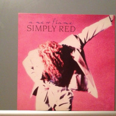 SIMPLY RED - A NEW FLAME (1989/WARNER REC/RFG) - Vinil/Vinyl/Impecabil (NM) - Muzica Rock
