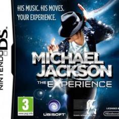 Michael Jackson The Experience Nintendo Ds - Jocuri Nintendo DS Ubisoft