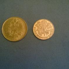 2 monede aur, Europa