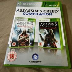 Assassin's Creed Brotherhood + Revelations, XBOX360, original! - Jocuri Xbox 360, Actiune, 18+, Single player