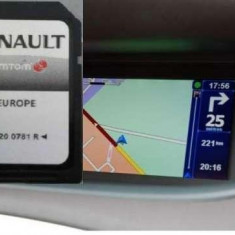 RENAULT SD CARD NAVIGATIE RENAULT TOMTOM CARMINAT LIVE EUROPA + ROMANIA 2017 - Software GPS