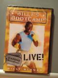 """DVD Sport - """"BILLY'S BOOTCAMP - LIVE"""" - cu BILLY BLANKS (2005) -Nou/Sigilat, Altele"""