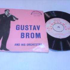 DISC VINIL GUSTAV BROM AND HIS ORCHESTRA STARE FOARTE BUNA - Muzica Jazz