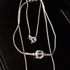 Set de argint cu lantisor si bratara - Set bijuterii argint