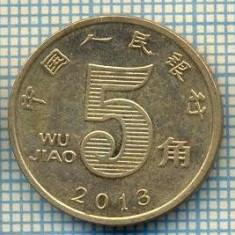 8331 MONEDA- CHINA - 5 JIAO -anul 2013 -starea ce se vede, Africa