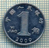 8326 MONEDA- CHINA - 1 JIAO -anul 2009 -starea ce se vede, Africa