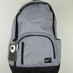 Nou! Rucsac NIKE cu loc pentru laptop - Rucsac Barbati Nike, Culoare: Gri, Marime: Marime universala