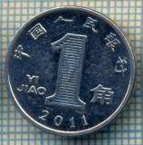 8322 MONEDA- CHINA - 1 JIAO -anul 2011 -starea ce se vede, Africa