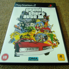 Joc GTA, Grand Theft Auto III, PS2, original, alte sute de jocuri! - Jocuri PS2 Rockstar Games, Actiune, 16+, Single player